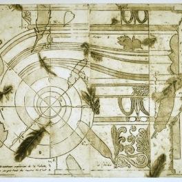 Column II (Collograph Print 74 x 50 cm)