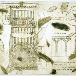 Column I (Collograph Print 74 x 50 cm)