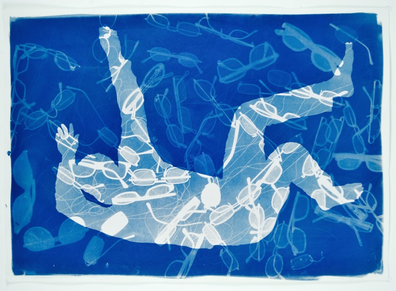 all washed up cyanotype