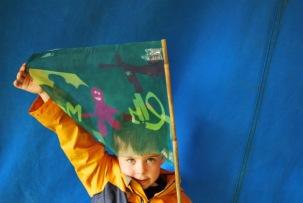 Greenman Festival 2016 dye transfer workshop