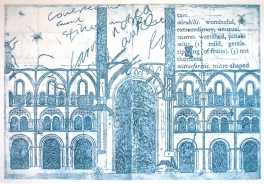 Mirabilis (Collograph Print 57 x 43 cm)