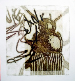 Insect II (Collograph Print 50 x 40 cm)
