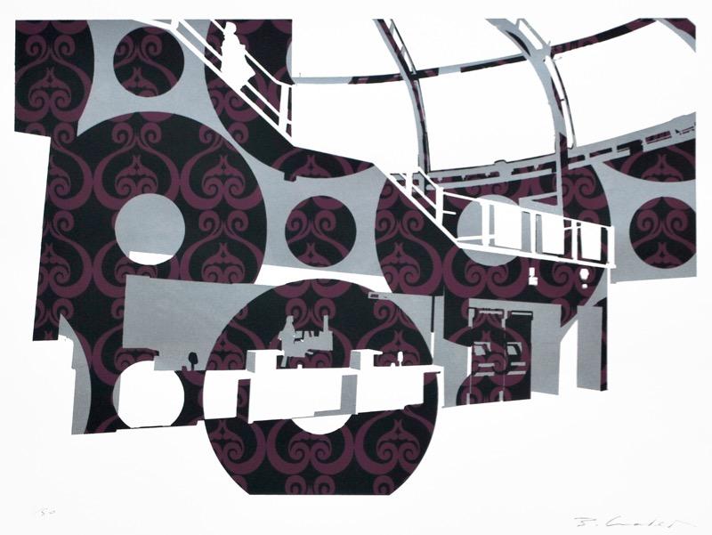 Newport Station Ticket Office (screenprint 53 x 38 cms)