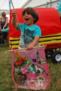 WOMAD Festival 2016 Plastic fusion workshop