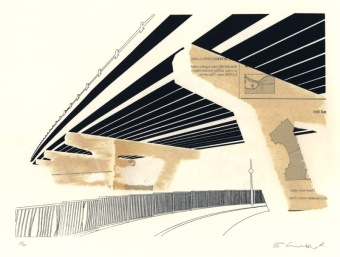 Underpass (Screen Print/sewing Pattern 29 x 21 cm)