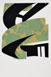 Atrium Cardiff II (Screen Print/Puff binder 42 x 29 cm)